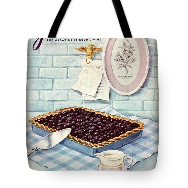 A Blueberry Tart Tote Bag