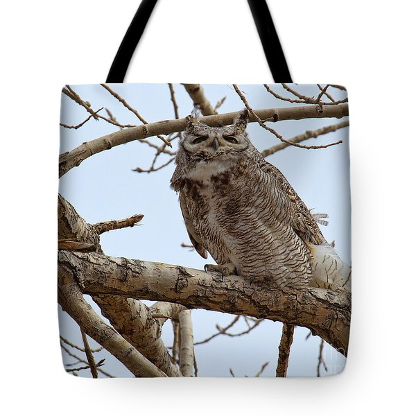 Tote Bag featuring the photograph A Blustery Day by Jim Garrison