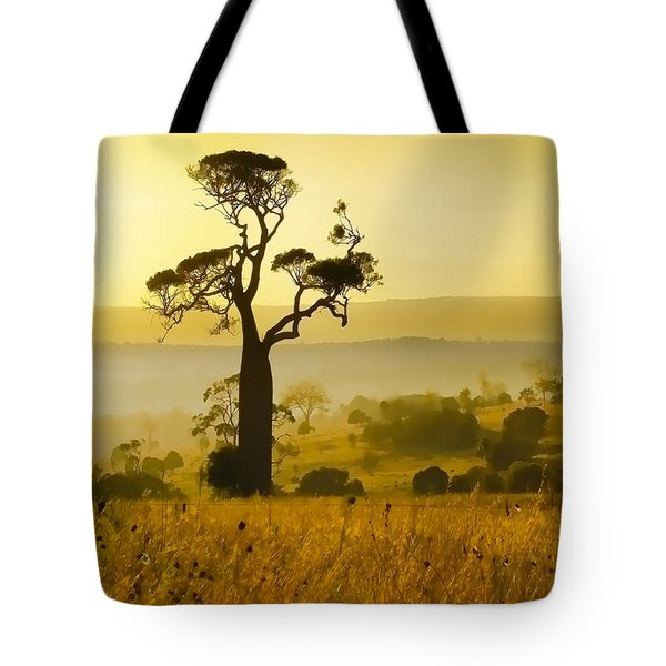 A Boab Sunrise Tote Bag