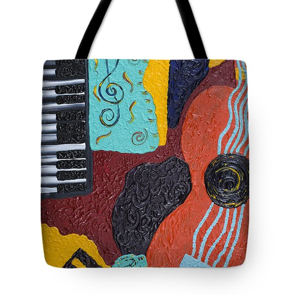 A Bold Session Tote Bag by Robin Hillman