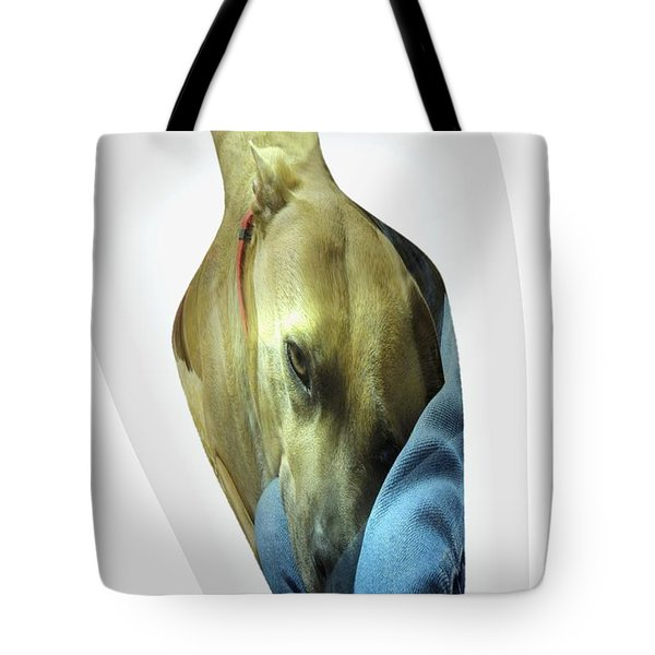 A Bottle Of Love Tote Bag by Renee Trenholm