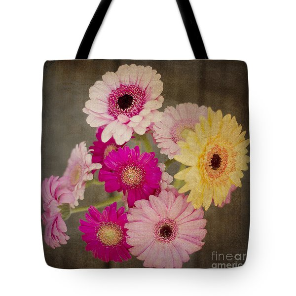 A Bouquet Of Gerbera Daisies Tote Bag