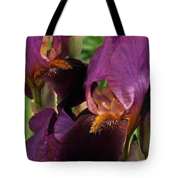 Tote Bag featuring the photograph A Bouquet Of Lilies by Sabine Edrissi