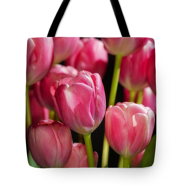 A Bouquet Of Pink Tulips Tote Bag