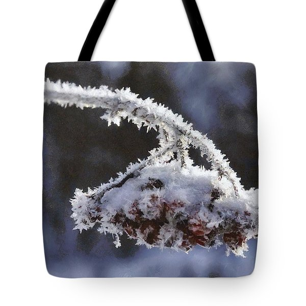 A Bow For Mr Frost Tote Bag