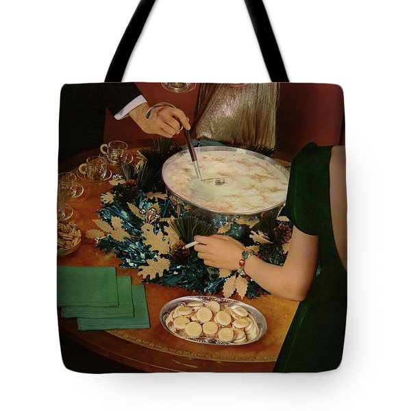 A Bowl Of Eggnog Tote Bag