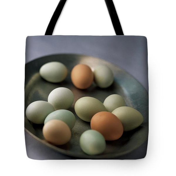 A Bowl Of Eggs Tote Bag