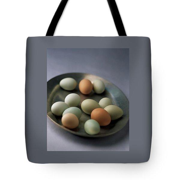 A Bowl Of Eggs Tote Bag