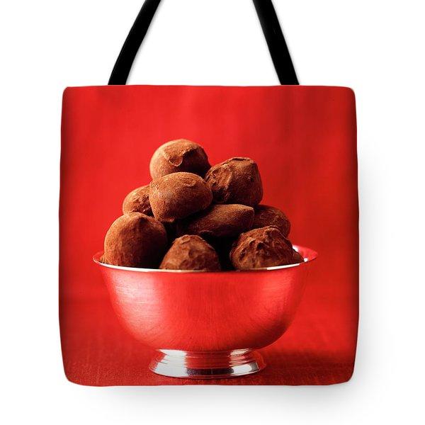 A Bowl Of Truffles Tote Bag