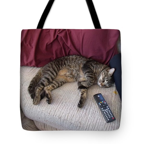 A Boy And His Remote Tote Bag