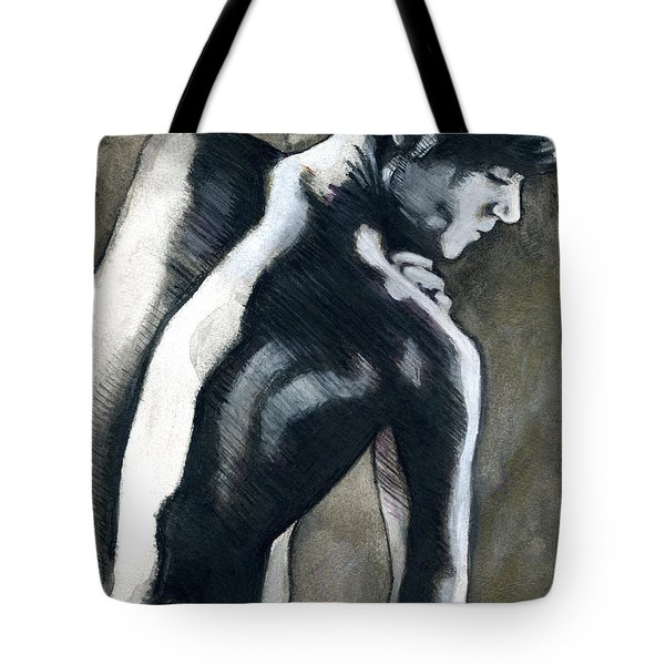 A Boy Named Shadow Tote Bag
