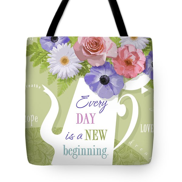 A Brand New Day Tote Bag