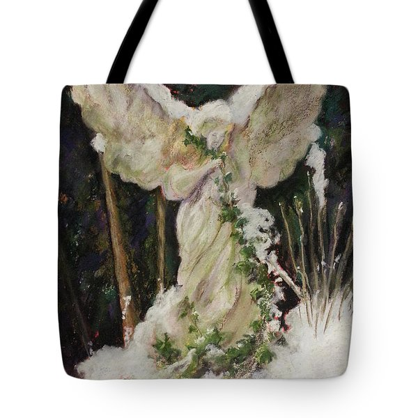 A Breath Of Snow And Ivy,  Highgate Cemetery Tote Bag