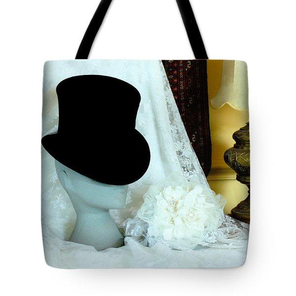 A Bridal Scene Tote Bag