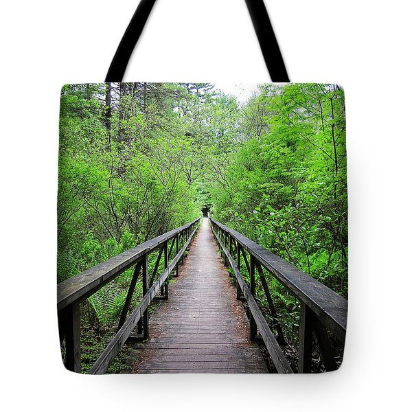 A Bridge To Somewhere Tote Bag by MTBobbins Photography