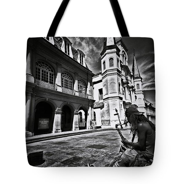 Tote Bag featuring the photograph A Buck At A Time by Robert McCubbin