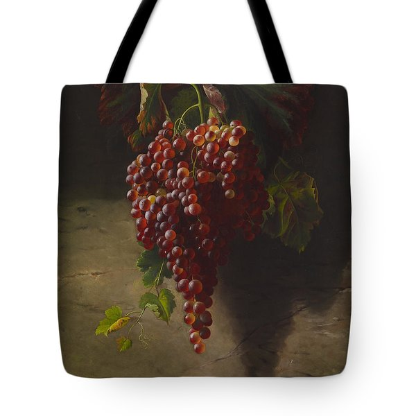 A Bunch Of Grapes Tote Bag by Andrew John Henry Way
