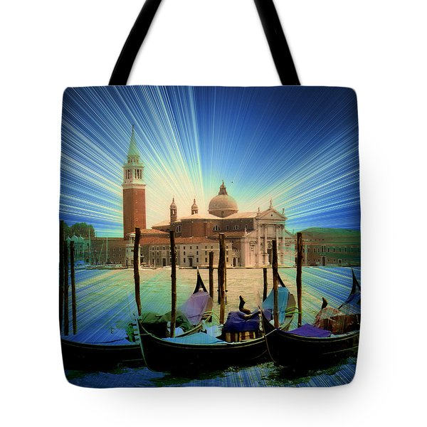 A Burst Of Light Tote Bag