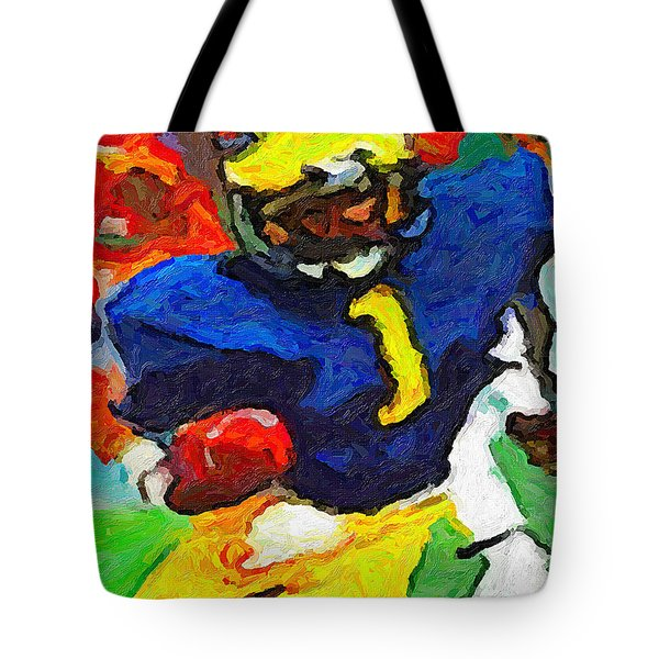A. C. In The House Tote Bag