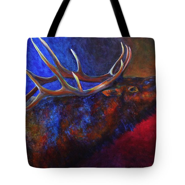 A Call In The Night Tote Bag