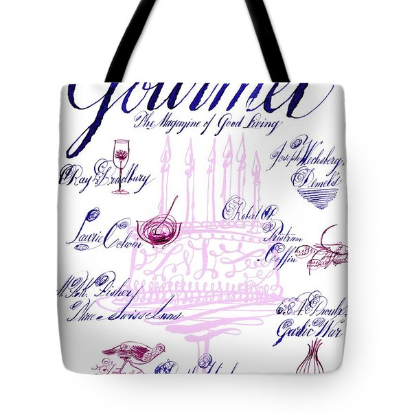 A Calligraphy Illustration Celebrating Sixty Tote Bag