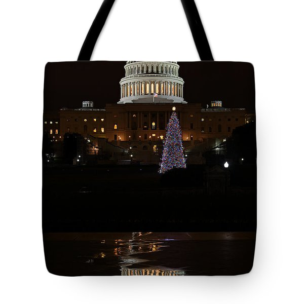 A Capitol Reflection Tote Bag