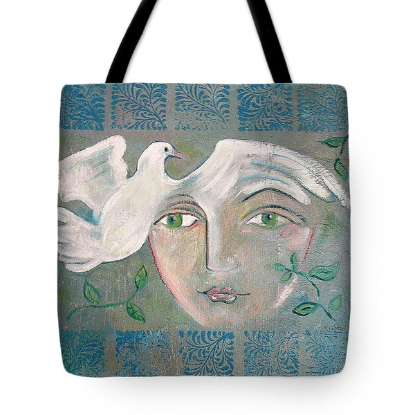 A Captured Young Emotion Tote Bag by John Keaton