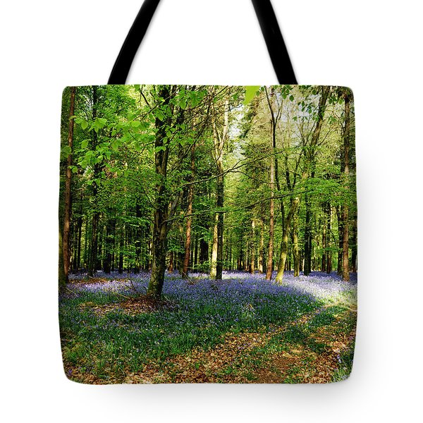 Tote Bag featuring the photograph A Carpet Of Colour by Wendy Wilton