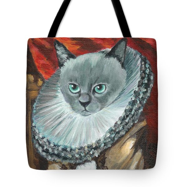 A Cat Of Peter Paul Rubens Style Tote Bag