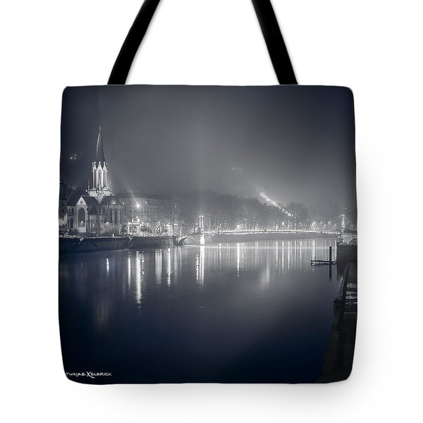 Tote Bag featuring the photograph A Cathedral In The Mist II by Stwayne Keubrick