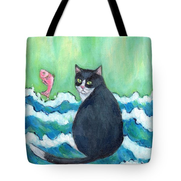 A Cat's Dream Interior Design Tote Bag