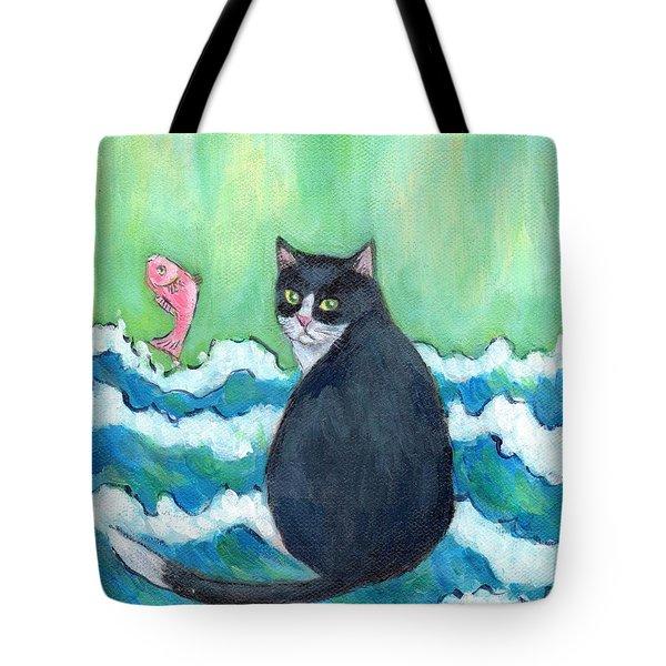 A Cat's Dream Interior Design Tote Bag