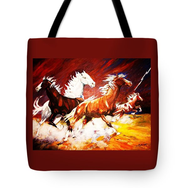 Unexpected Lighting Bolt Tote Bag