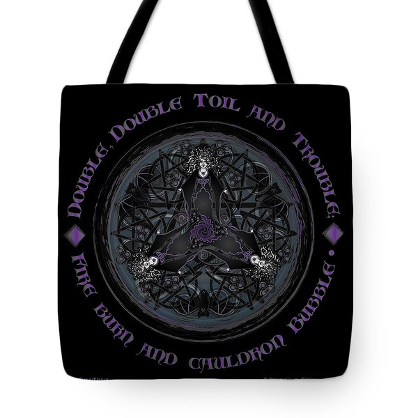 A Celtic Witches' Brew Tote Bag