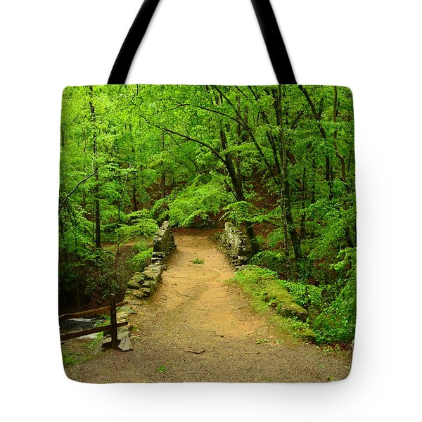 Century Old Stone Bridge Tote Bag
