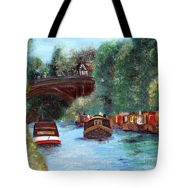 A Cheshire Canal Remembered Tote Bag