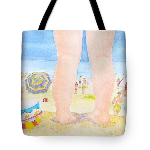 A Child Remembers The Beach Tote Bag