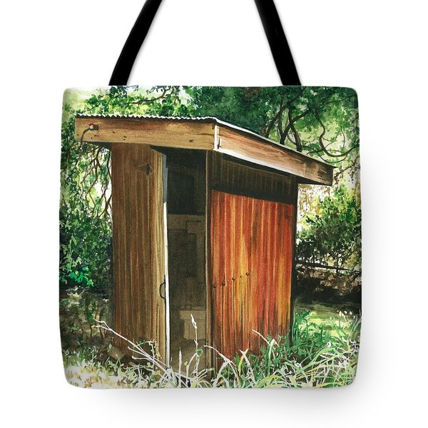 A Childhood Memory Tote Bag by Barbara Jewell