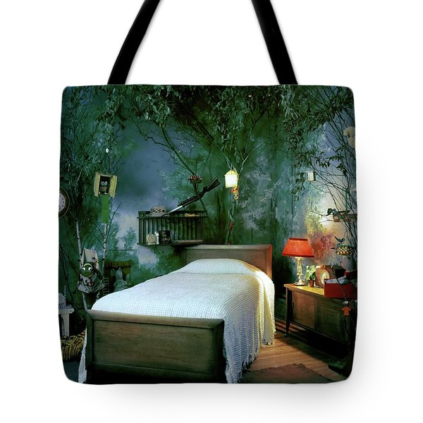 A Child's Bedroom Designed By William Riva Tote Bag