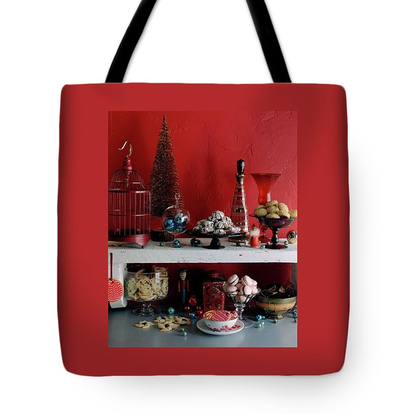 A Christmas Display Tote Bag