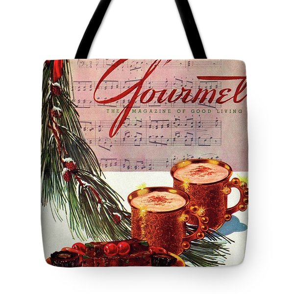 A Christmas Gourmet Cover Tote Bag