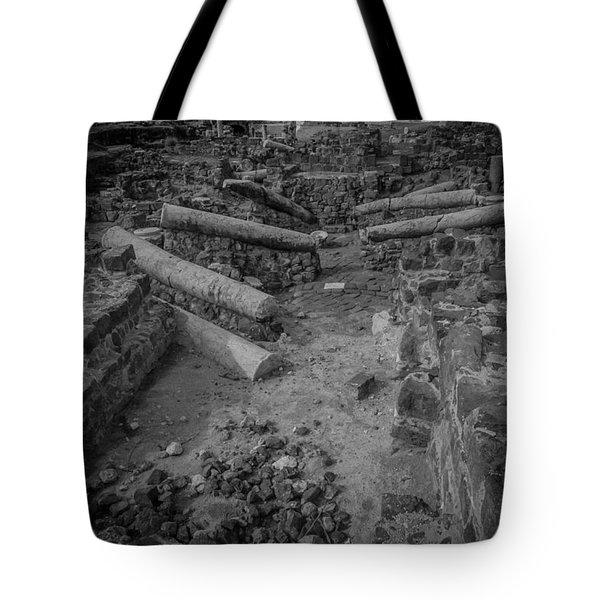 A City Falls Tote Bag by David Morefield