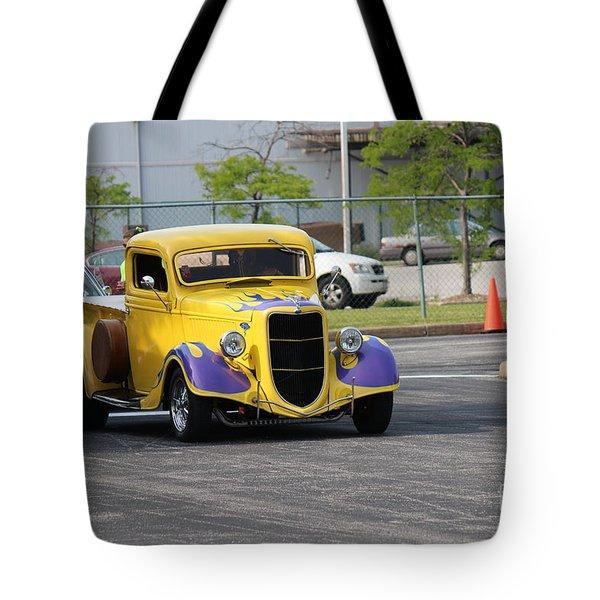 A Classic Truck Tote Bag