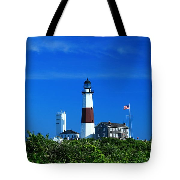 A Clear Day Tote Bag by Catie Canetti