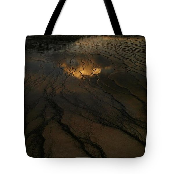 A Cloud In The Water Tote Bag by Jeff Swan