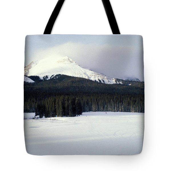 A Cold Wind Tote Bag by Brent L Ander