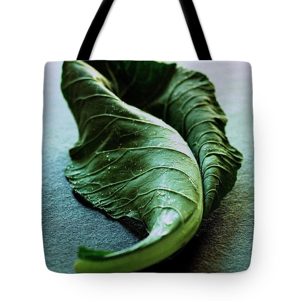 A Collard Leaf Tote Bag