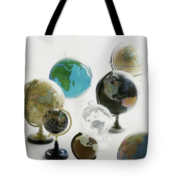 A Collection Of Globes Tote Bag