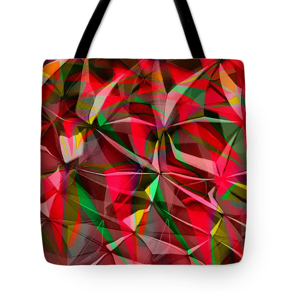 Colorful Shapes Blend Tote Bag