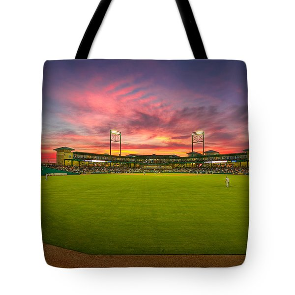 A Constellation Sunset Tote Bag by Tim Stanley